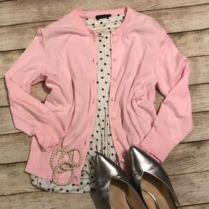 Pink Cardigan | J. Crew